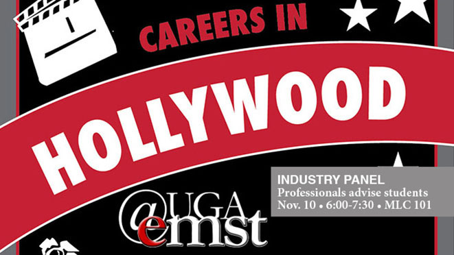 Industry professionals join in panel discussion about entertainment