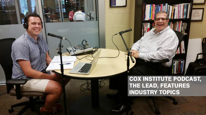 The Lead podcast will interview journalists, editors, professors and executives for an inside look at the journalism industry.