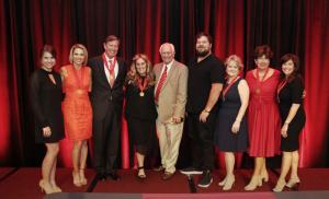2017 Alumni Award winners, Grady Fellowship inductees and Dean's Medal recipient