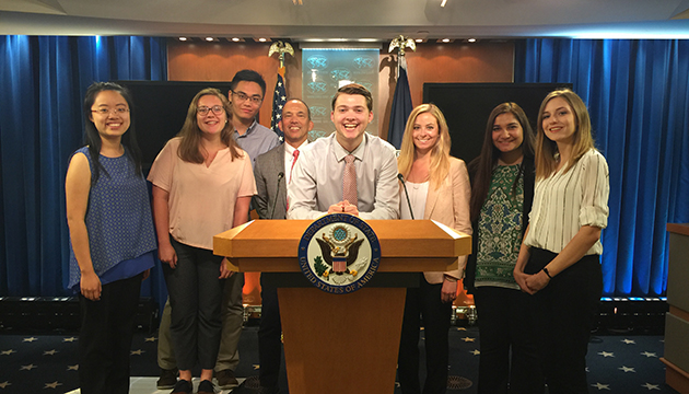 Students learn about the values and practice of public affairs communications through the Grady DC Internship and Field Study Program.