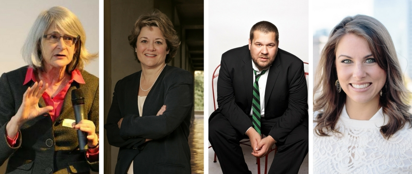The 2017 Alumni Award winners include Jane B. Singer, Bonnie Arnold, Jason Kreher and Brooke Beach.