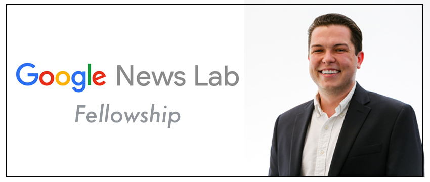 Daniel Funke will be assigned to the Poynter Institute as part of his Google News Lab Fellowship this summer.