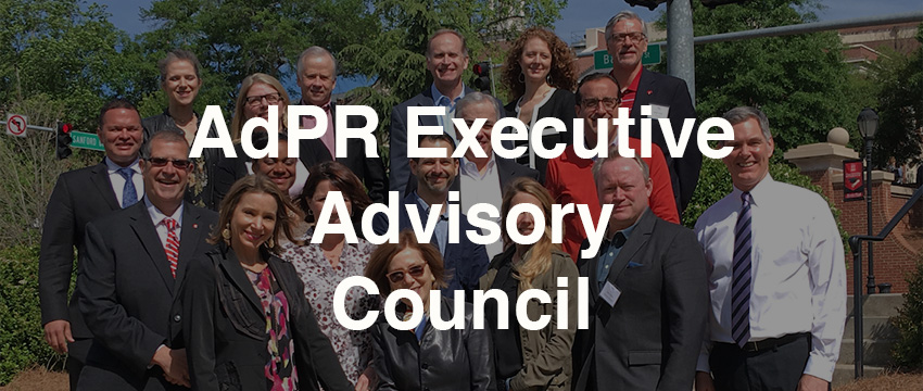 The AdPR Executive Advisory Council welcomes five new members at its April 20-21 meeting.