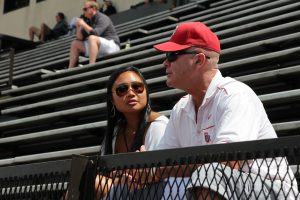 Vira Halim speaks with Ohio State Head Coach Ty Tucker.