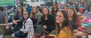 "In addition to classes and internships, GradyLA students enjoy a variety of LA events like this outdoor screening of ""The Princess Bride"" in Griffith Park."