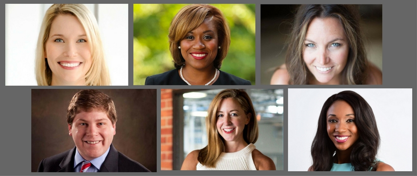 Grady alumni included in UGA's 40 Under 40 Class of 2017: Mariel Clark (ABJ '01), Amelia Dortch (ABJ '06), Katie Jacobs (ABJ '05), Joshua Jones (ABJ '08), Tucker Berta Sarkisian (ABJ '00) and Maria Taylor (ABJ '09).
