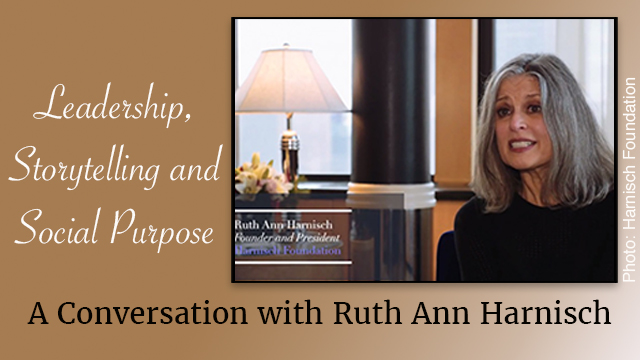 Former broadcaster and reporter Ruth Anne Harnisch will discuss the power of storytelling over lunch Nov. 8, 2017