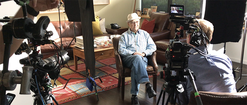 Norman Lear spoke about the impact of his friend Bob Schiller, in an October interview with Taylor Cole Miller.