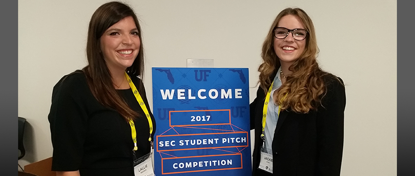Grady students represent UGA at SEC Entrepreneurial Pitch Competition