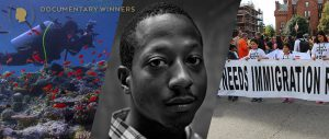 "Nine documentaries were selected to receive Peabody Awards for 2017 including (from left) ""Chasing Coral,"" ""Time: The Kalief Browder Story"" and ""Indivisible"""
