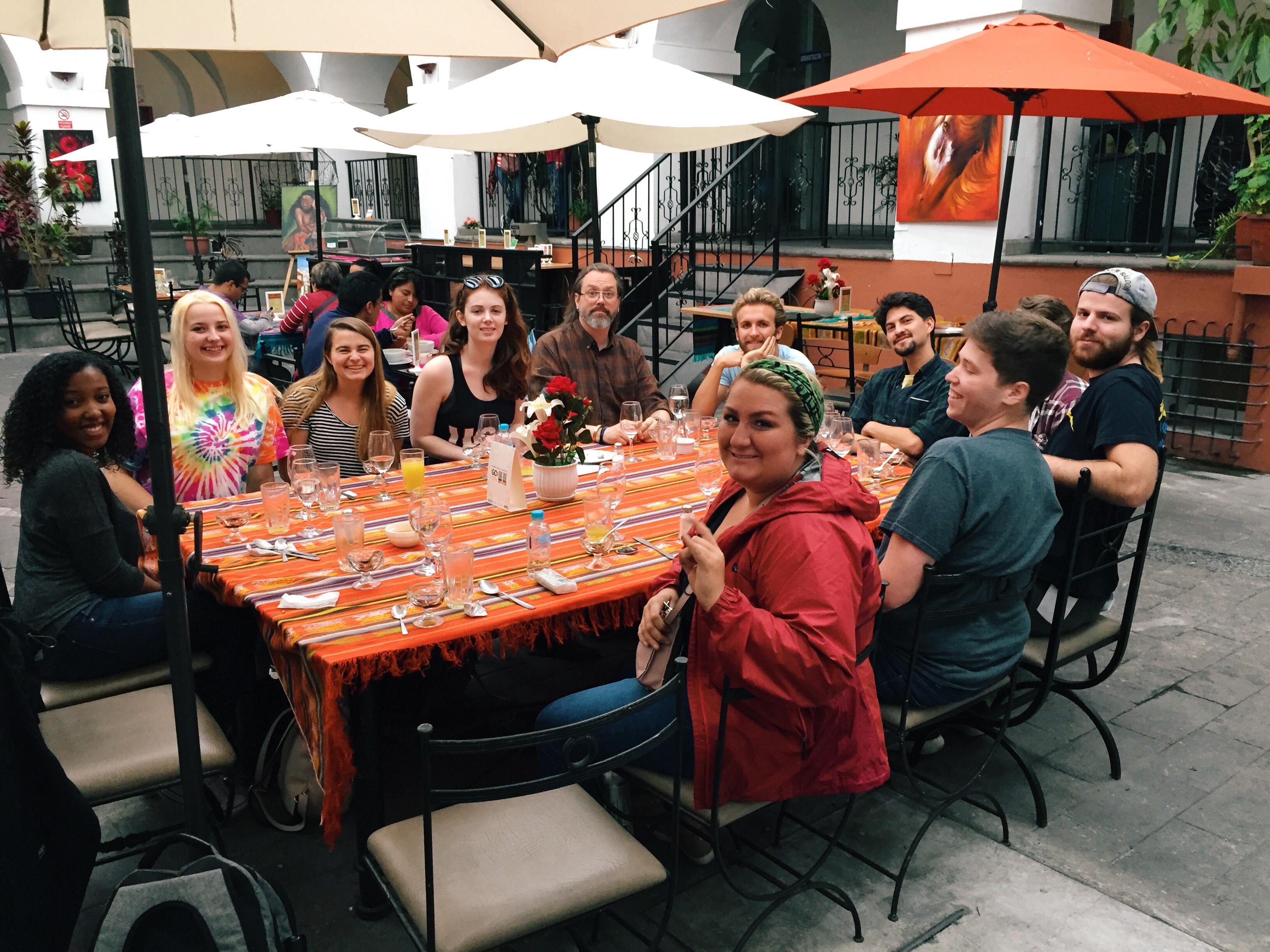Producing Entertainment in Quito, Ecuador Study Abroad Program