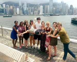 Grady students enjoy learning and exploring in China.