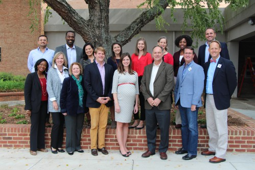 Members of the Grady Society Alumni Board Fall 2016