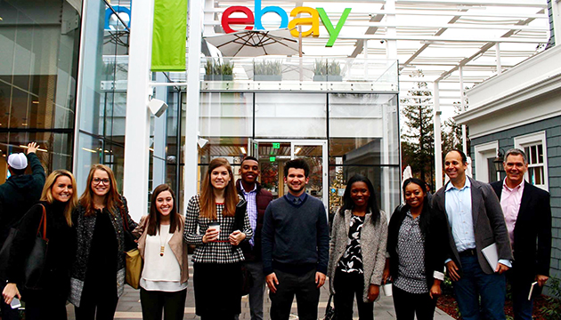 A trip to Silicon Valley provides insite for AdPR students interested in careers in technology.
