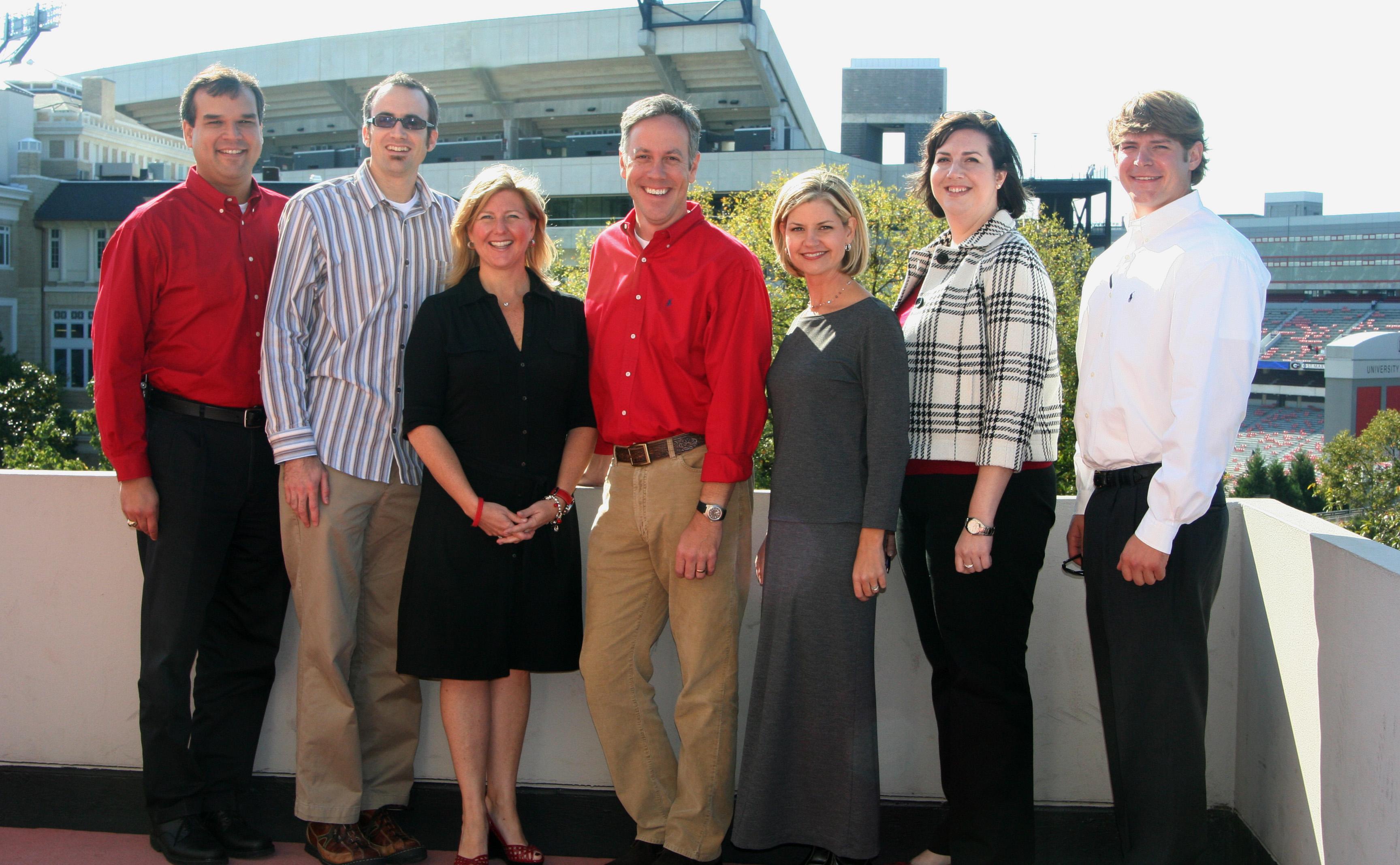 Members of the 2006-2007 Grady Society Alumni Board