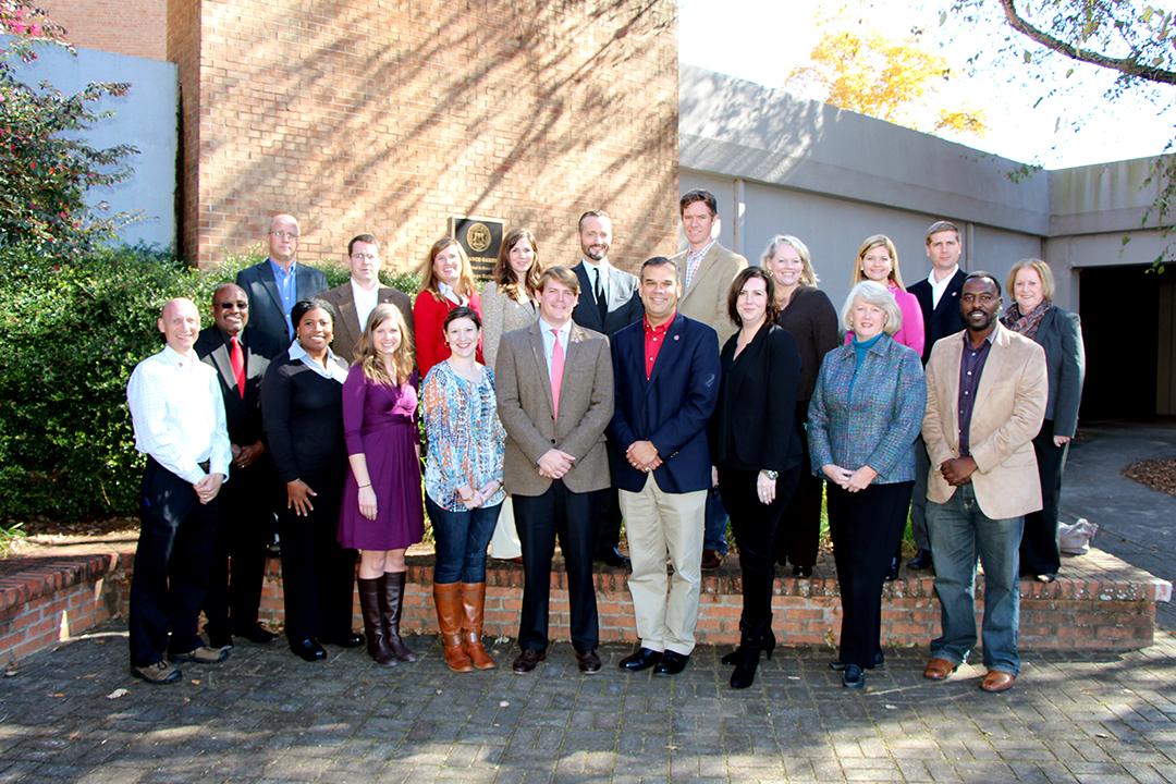 Members of the 2013 Grady Society Alumni Board