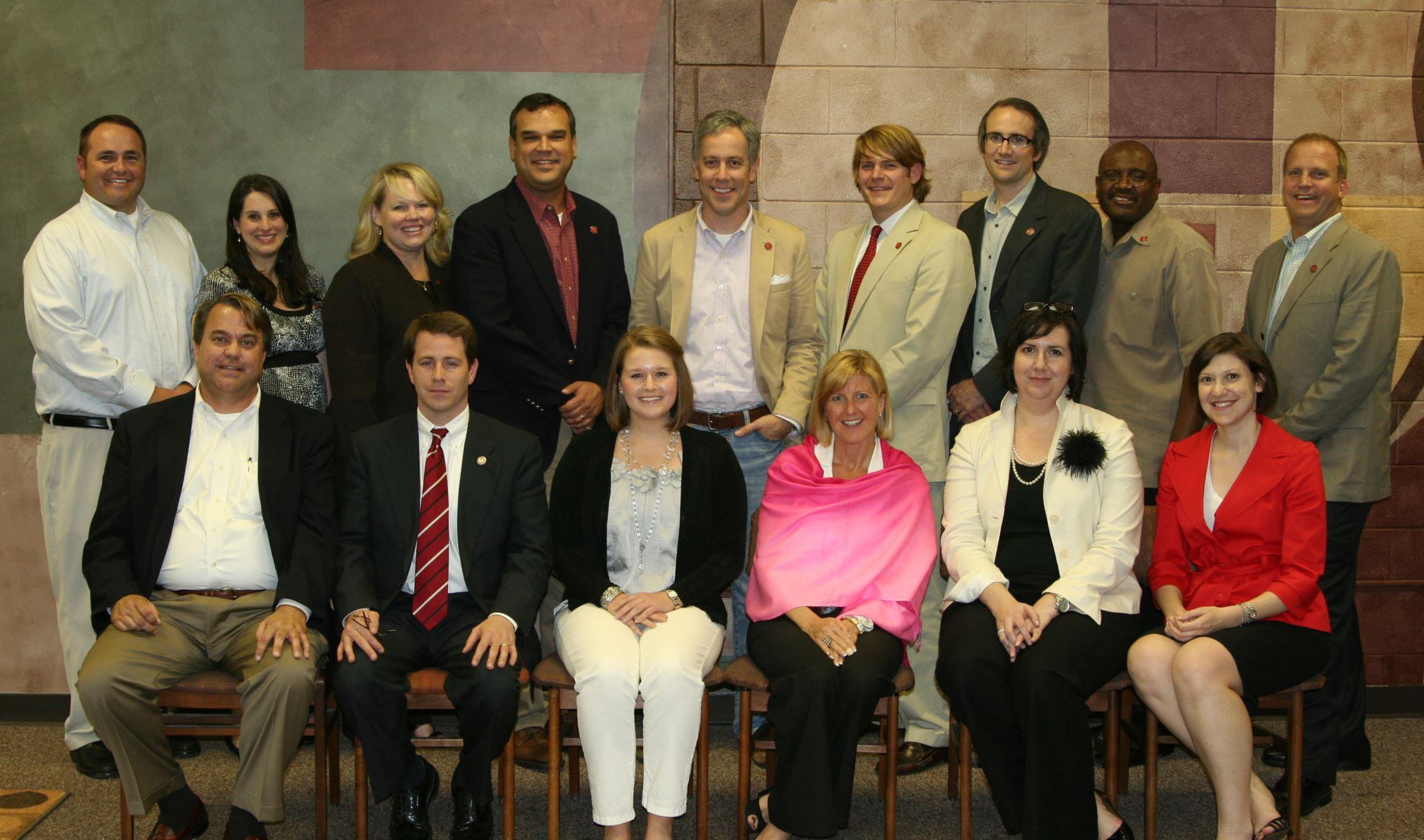 Members of the 2010 Grady Society Alumni Board