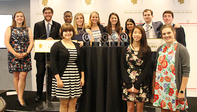 The Peabody Student Honor Board recognizes excellence in digital media storytelling.