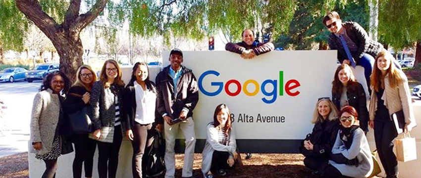 ADPR students and faculty tour Silicon Valley