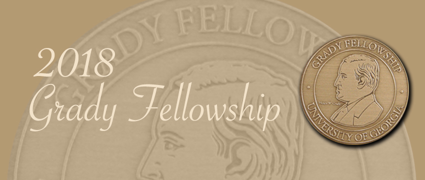 Five Fellows, plus the John Holliman Jr. Award Winner, will be inducted into the Grady College Fellowship April 27, 2018.