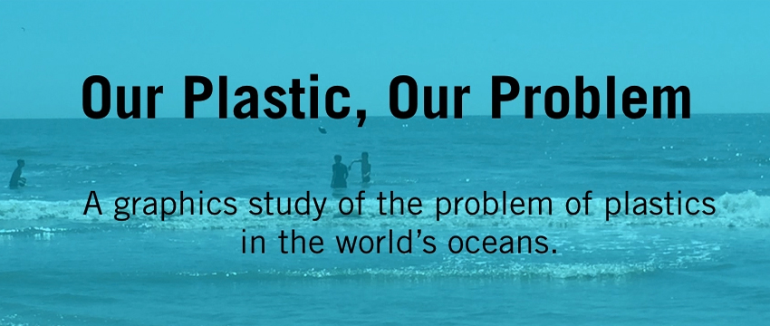 'Our Plastic, Our Problem': a graphics study of plastics in the world's oceans