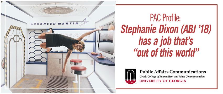 Stephanie Dixon, Lockheed Martin