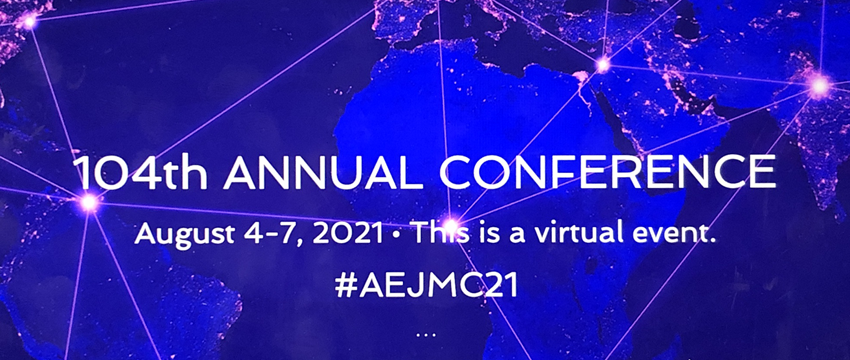 AEJMC Conference webpage graphic