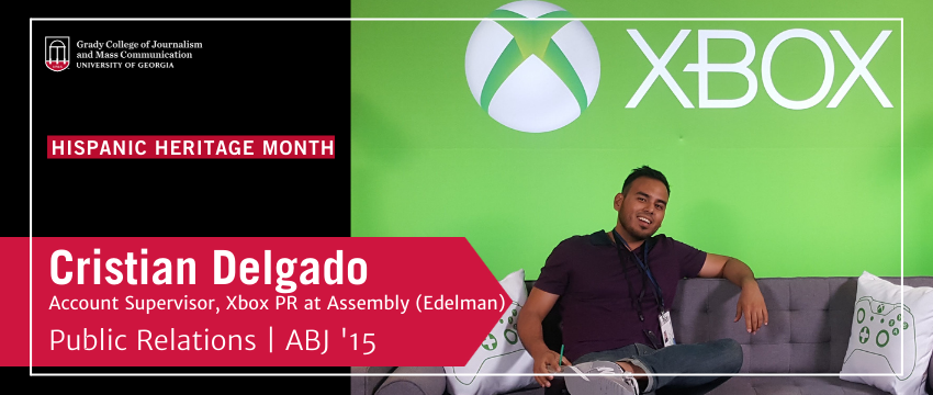 Cristian Delgado works as an Account Supervisor for Xbox PR at Assembly (Edelman). (Photo: provided)
