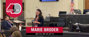 Marie Broder in court