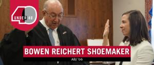 Bowen Reichert Shoemaker being sworn in court